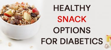 HEALTHY SNACK OPTIONS FOR DIABETICS